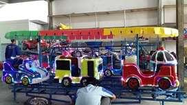 RST kereta panggung odong kartun mainan pasir kinetik IIW