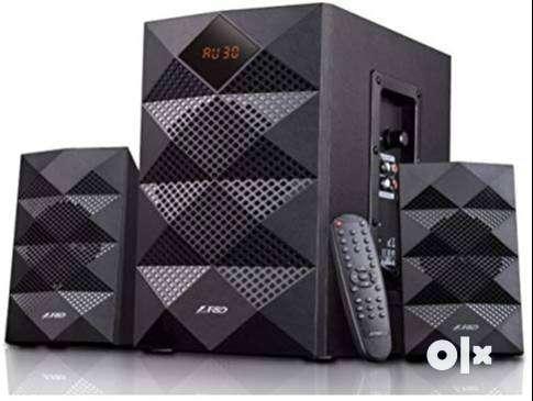 F&D A180X 42 W Portable Bluetooth Home Theatre  (Black, 2.1 Channel) 0