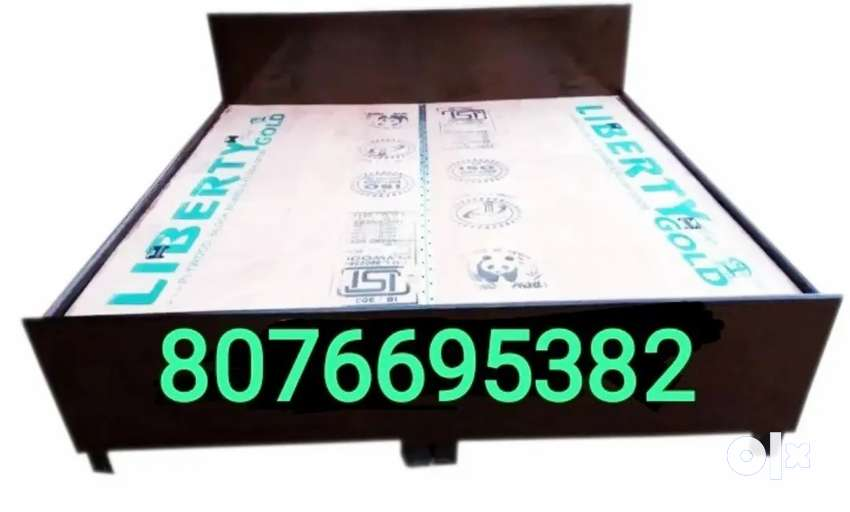Heavy quality doubel bed boxing