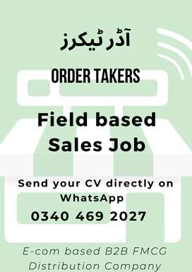 Order Takers | Order Bookers - Sales Officers