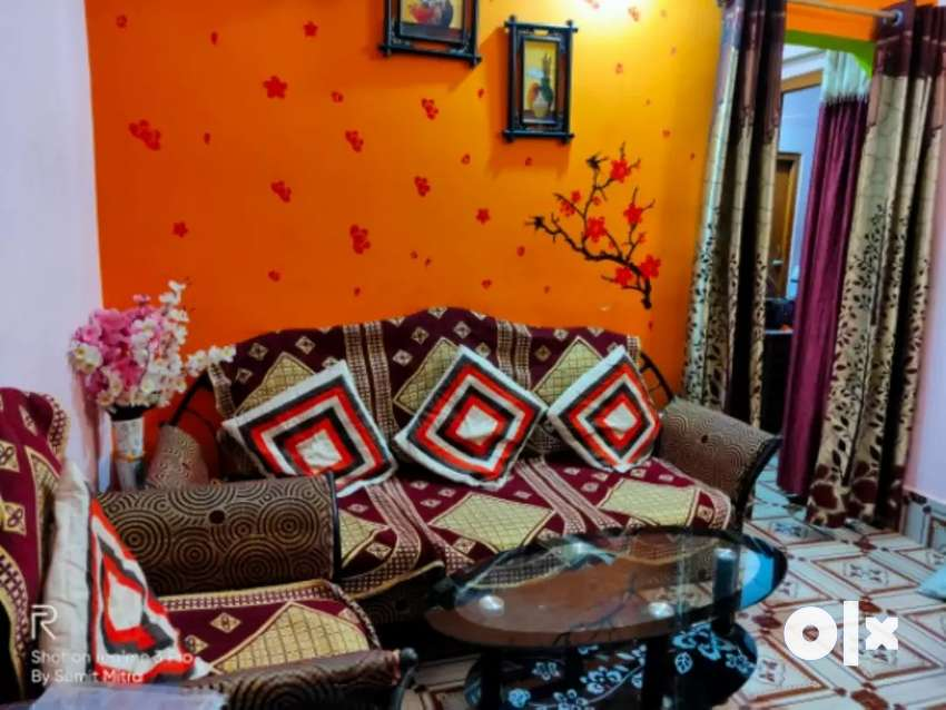 2 BHK House with attached bathroom @10000 semi furnished  from 1st Dec 0