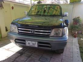 Toyota Prado TZ full option...Total Genuine Islamabad registered