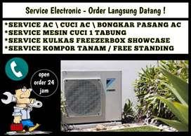 Service AC TIDAK DINGIN servis Mesin cuci Kulkas Asemrowo surabaya