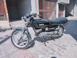Yamaha RX 100 in well condition.