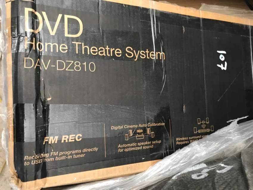 Sony DVD Surround Home theatre System 0