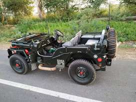 Open and closed body jeep ready