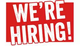 Part time and full time job available.