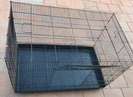 Exotic black heavy mesh imported bird cage for sale
