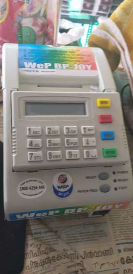 Wep bp joy receipt printing machine
