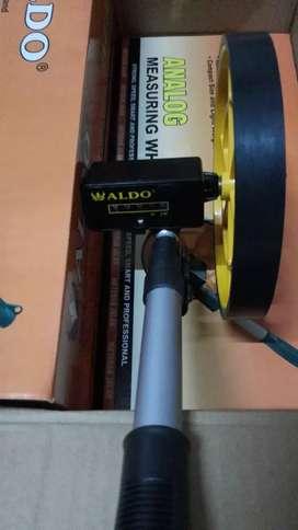 ALDO Meteran Dorong Roda Jalan ANALOG MEASURING WHEEL