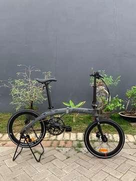 Sepeda lipat Seli Element Camp Snoke Iko Uwais 20 Inci Baru Murah