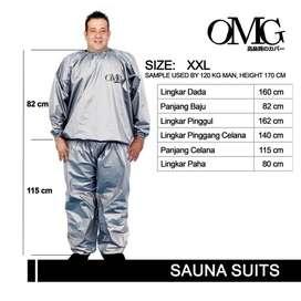 Baju Sauna Suit XXL