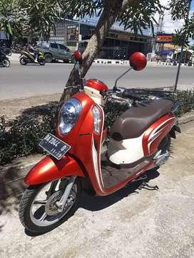 Honda Scoopy Fi Remote 2014 Ori Ba Pdg  Pjk Hot