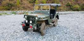 Mahindra di 1997 jeep comletely restore and converted in willys