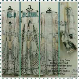 Gamis 2 in 1 by Soira