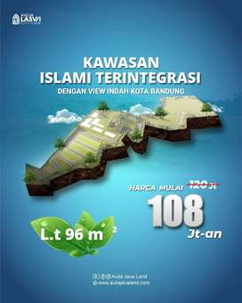 100jt-an AJA !!! KAVLING STRATEGIS DI BANDUNG SELATAN