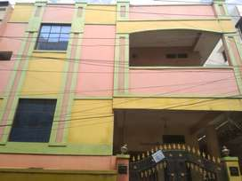 2 BHK apartment for Rent in Amberpet near Mukarram Hotel
