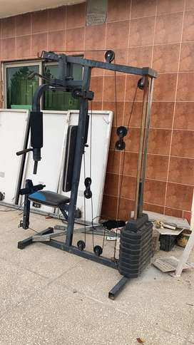 Wing and chest machine