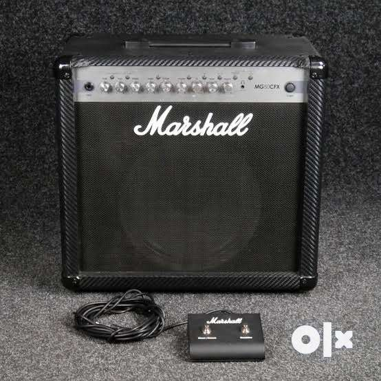 Marshall MG50CFX Combo Guitar 50-Watt Amplifier