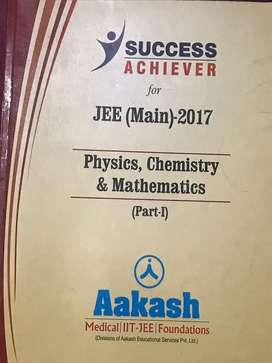 Aakash IIT JEE Mains assorted books