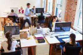 Urgent hiring for back office receptionist, account, telecaller, sales