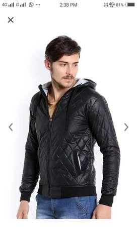 New black jacket not used
