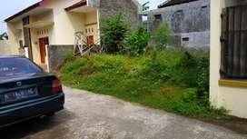 Tanah Kavling Luas -+75m² di Utara Kelurahan Plesungan