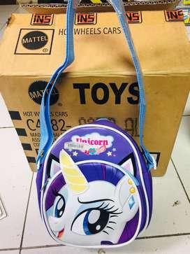 Mainan anak tas kuda poni baru