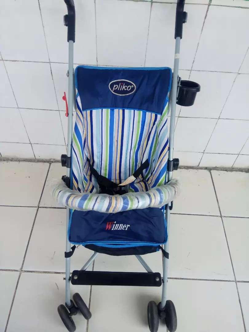 Pliko winner stroller baby buggy seken 0