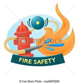 Fire and safety training cum placement