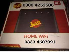 Router LAN PORT & wifi LTE JAZZ 4G Offive in a Box Available