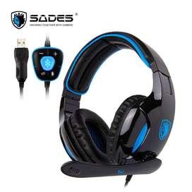 Headset Gaming Sades SNUK SA902