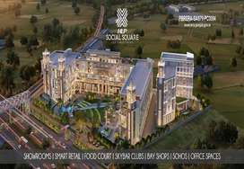 HLP Social Square in Zirakpur is a collection of showrooms
