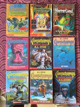 R.L.Stine Goosebumps Novels For Sale
