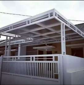 Railing tangga ,canopy besi/ kaca ,pagar ,tralis dll murah berkualitas