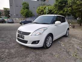 Suzuki Swift GX manual 2014 putih mulus