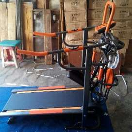 manual treadmill 7 fungsi fc 8003 alat fitness lari