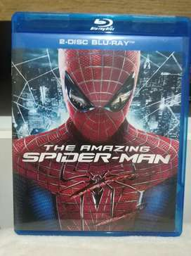 Blu ray the amazing spiderman