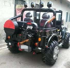 Landi modified jeep