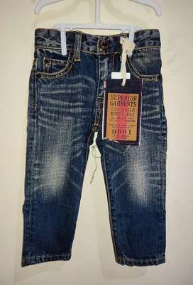 Celana jeans import anak