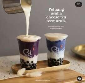 Peluang Bisnis Usaha Sel Sel Cheese Tea Minuman Kekinian
