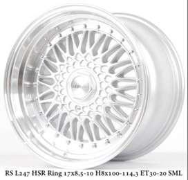 buat jazz rs Racing RS L247 HSR R17X85-10 H8X100-114,3 ET30-20 SML