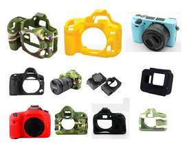 (Cash On Delivery) Rubber Case DSLR Canon Nikon Sony Gopro