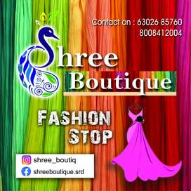 Need master come tailor at Shree boutique sangareddy