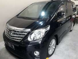 Toyota Alphard S 2.4 AT Th 2013 Pemakaian Th 2014