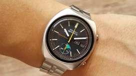 Ori 70s Seiko 5 sports speedtimer 6139-8002 chronograph oris omega iwc