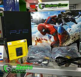 SONY PS2 Fat 120gb fullgame hardisk dalam