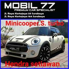 Minicooper S turbo tahun 2015