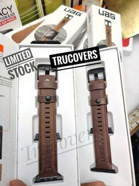 Uag leather straps to apple watches