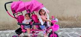 Sepeda stoller Anak Kembar atau kk adx kualitas trjamin dan kokoh